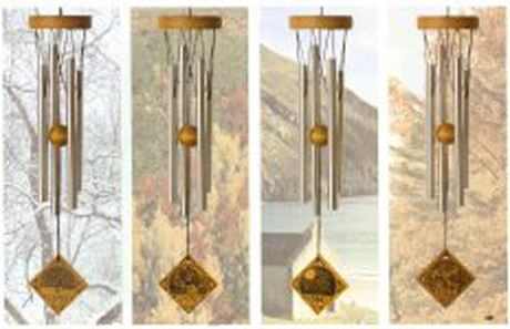 WOODSTOCK Four Seasons Wind Chimes Set
