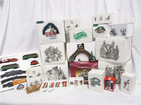 LOT OF MORE CHRISTMAS COLLECTIBLES FEATURING DEPT. 56