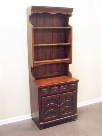 THOMASVILLE CHEST OF DRAWER WITH HUTCH/BOOKCASE