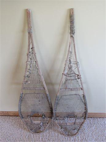 Pair of Antique Snowshoes