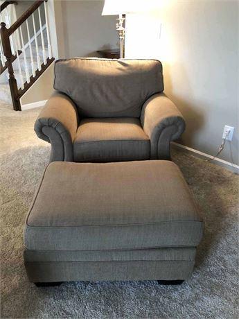 Ashley Furniture Chair & Ottoman