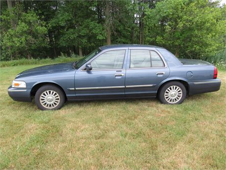 2007 Mercury Grand Marquis LS 4-Door