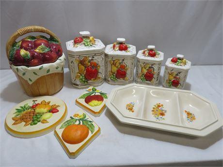 Ceramic Kitchenware Lot