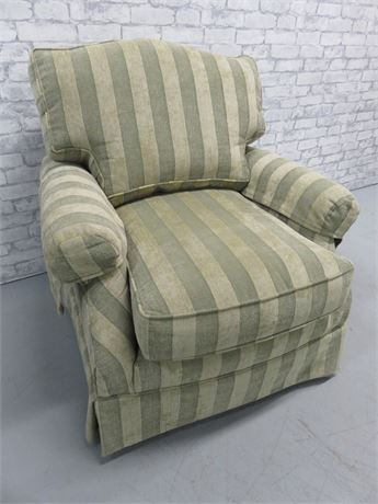 Basista Furniture Striped Arm Chair