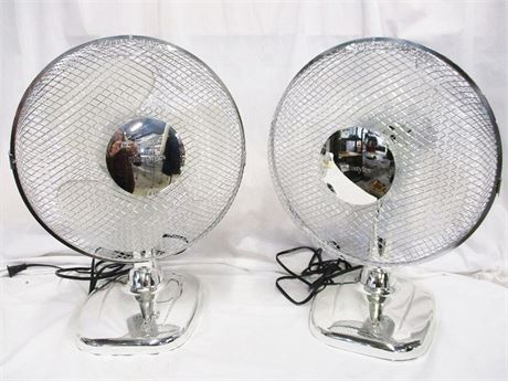 LOT OF 2 HOMESTYLE TABLE FANS
