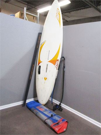 HIFLY MAGNUM WINDSURFING BOARD WITH ACCESSORIES