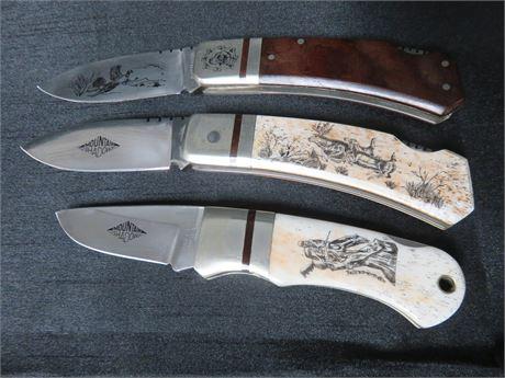 PIC Mountain Shadows Folding Knives