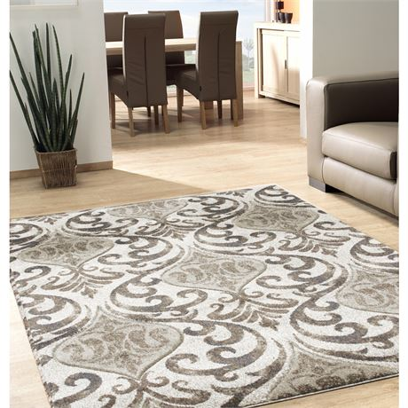 BALTA HOME Manchester Tan 5X8 Rug