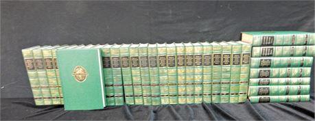 Vintage Funk & Wagnalls Encyclopedia Set