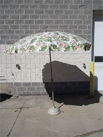 ARDEN PARADISE 9' UMBRELLA WITH COVER AND STAND