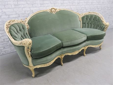 BISCHOF Interiors French Provincial Parlor Sofa