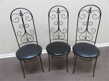 GALLO Wrought Iron Chairs