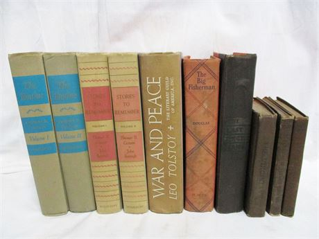 LOT OF VINTAGE FICTION BOOKS