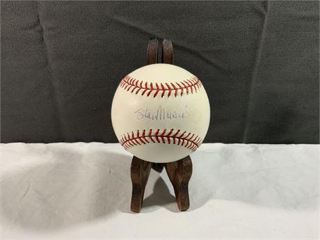 """Stan """"The Man"""" Musial AUTOGRAPH MLB Baseball"""