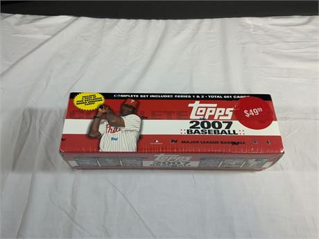 2007 Topps SEALED Factory Set
