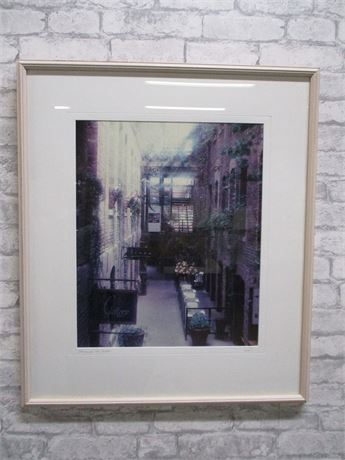 """PASSAGEWAY, OLD MARKET"" PRINT - SIGNED BY THE ARTIST"
