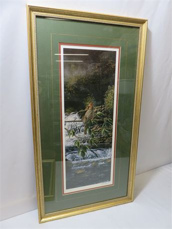 RICK KELLEY Limited Edition Willow River Refuge (Female) Lithograph