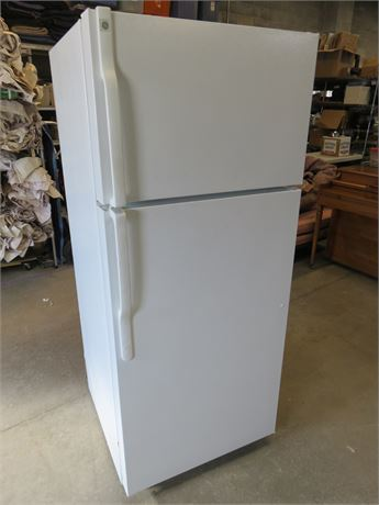 GE 18.2 Cu. Ft. Top-Freezer Refrigerator