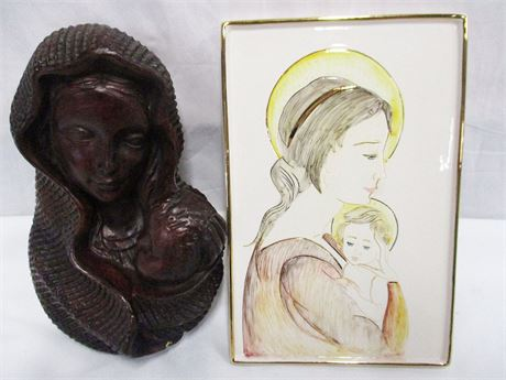 MADONNA AND CHILD ARTWORK