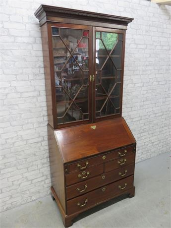 Antique 18th Century English Secretary Desk