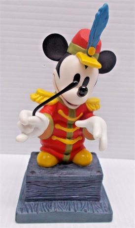 """1998 Mickey Mouse """"From The Top"""" Figurine"""
