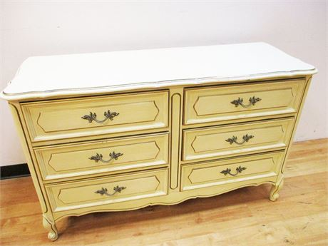 HENRY LINK FRENCH PROVINCIAL 6-DRAWER DRESSER