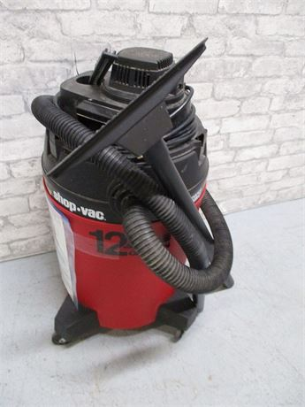 12-GALLON WET/DRY SHOP VAC
