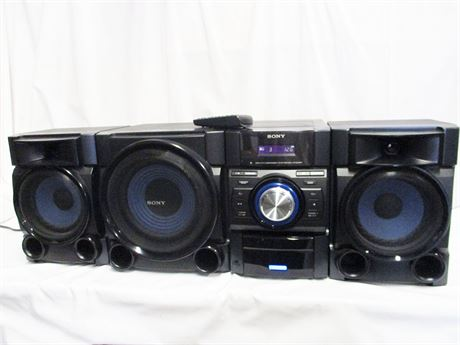 SONY MHC-EC909iP MINI HI-FI SHELF SYSTEM WITH REMOTE