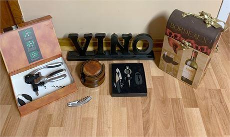 Wine Accessories Lot