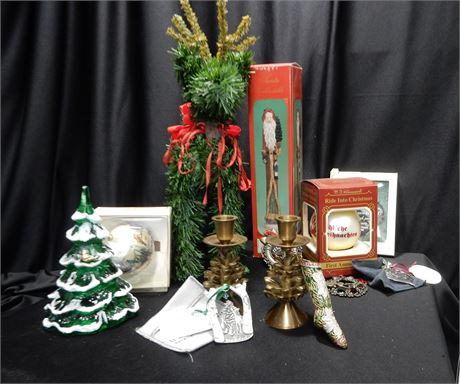 Decorative Christmas Lot