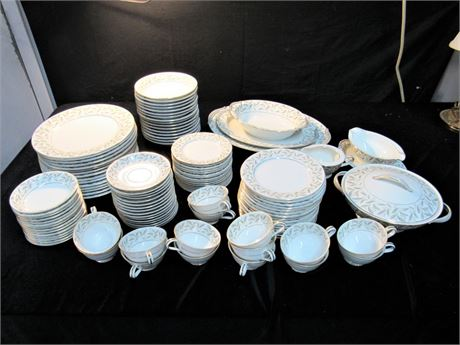 Large Noritake Carole China Lot - 113 Pieces