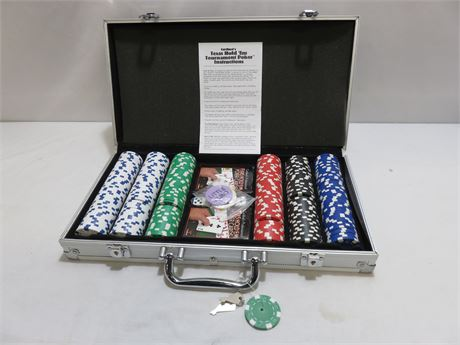 CARDINAL Texas Hold'em Professional Poker Set