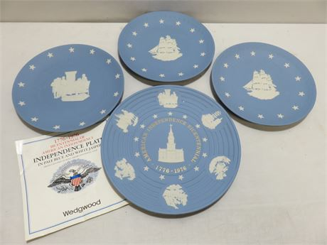 WEDGWOOD Patriotic Collector Plates