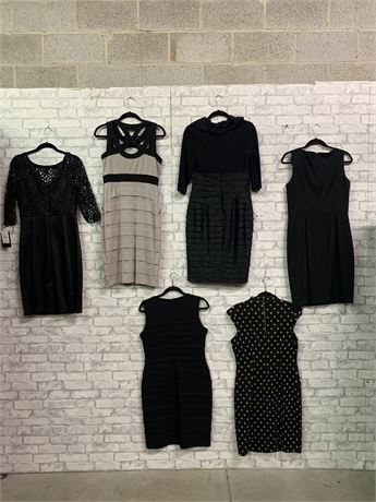 All Eyes on Her. Lot of 6 Stunning Dresses