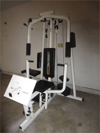 WEIDER PRO 9835 HOME GYM FITNESS AND EXERCISE EQUIPMENT