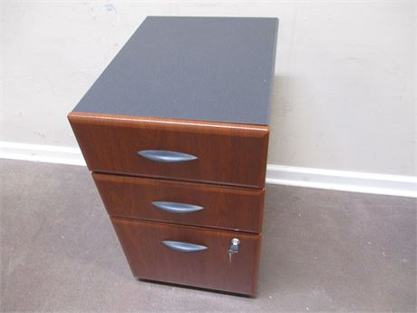 BUSH FURNITURE 3-DRAWER LOCKING CABINET