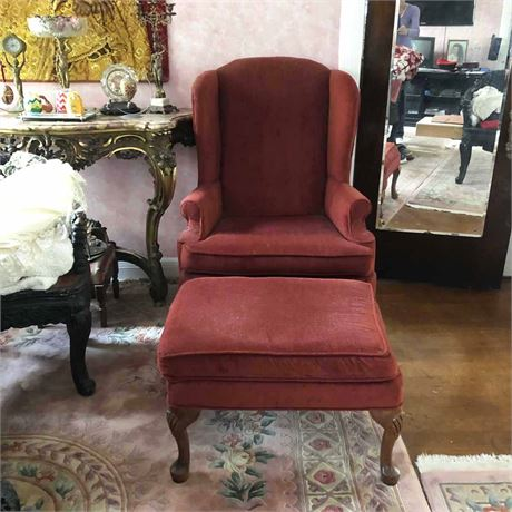 Southern Living Wing Back Chair