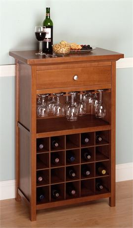 WINSOME Wine Cabinet