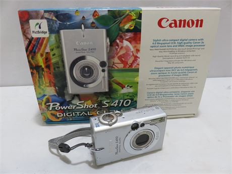CANON PowerShot S410 Digital Elph Camera