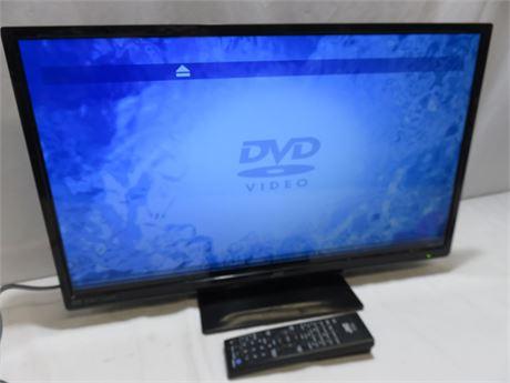 JVC 24-inch Class LCD TV/DVD Combo