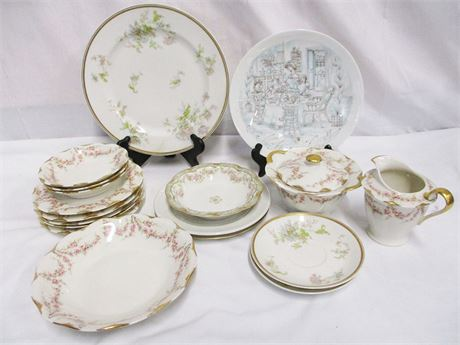 LOT OF MIXED HAVILAND CHINA