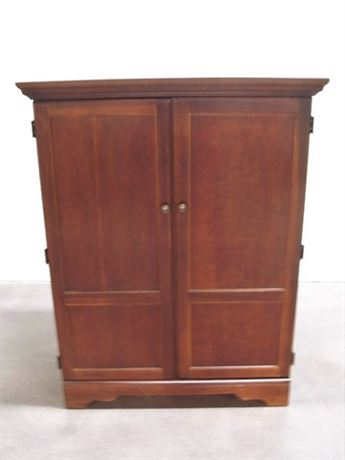 RIVERSIDE TV/ENTERTAINMENT ARMOIRE