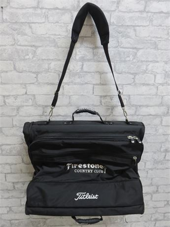 TITLEIST Firestone Country Club Garment Bag