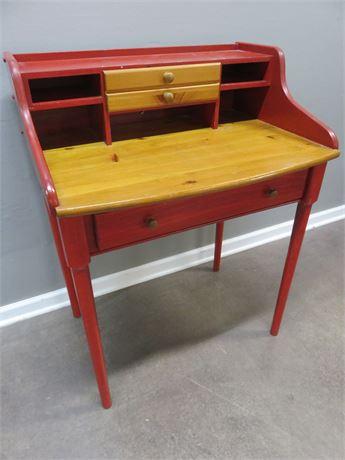 YIELD HOUSE Pine Writing Desk