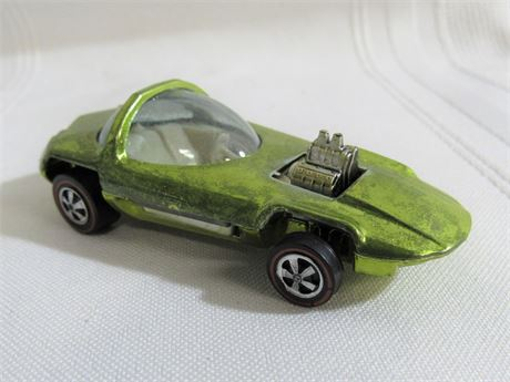 1967 Mattel Hot Wheels RedLine - Silhouette - Lime Green