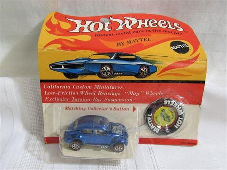 1969 Mattel Hot Wheels RedLine - Custom Volkswagen - NIP