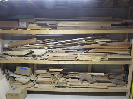 Assorted Lumber Lot