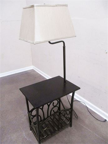 END TABLE WITH INTEGRATED LAMP