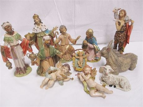 ITALIAN NATIVITY SET