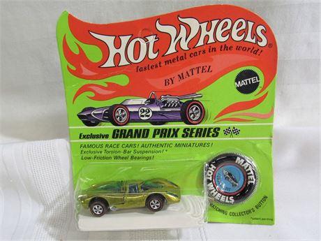 1969 Mattel Hot Wheels RedLine Grand Prix Series - Porsche 917 - NIP